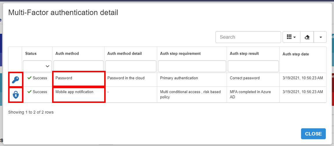 Multi Factor Password Microsoft Authenticator app