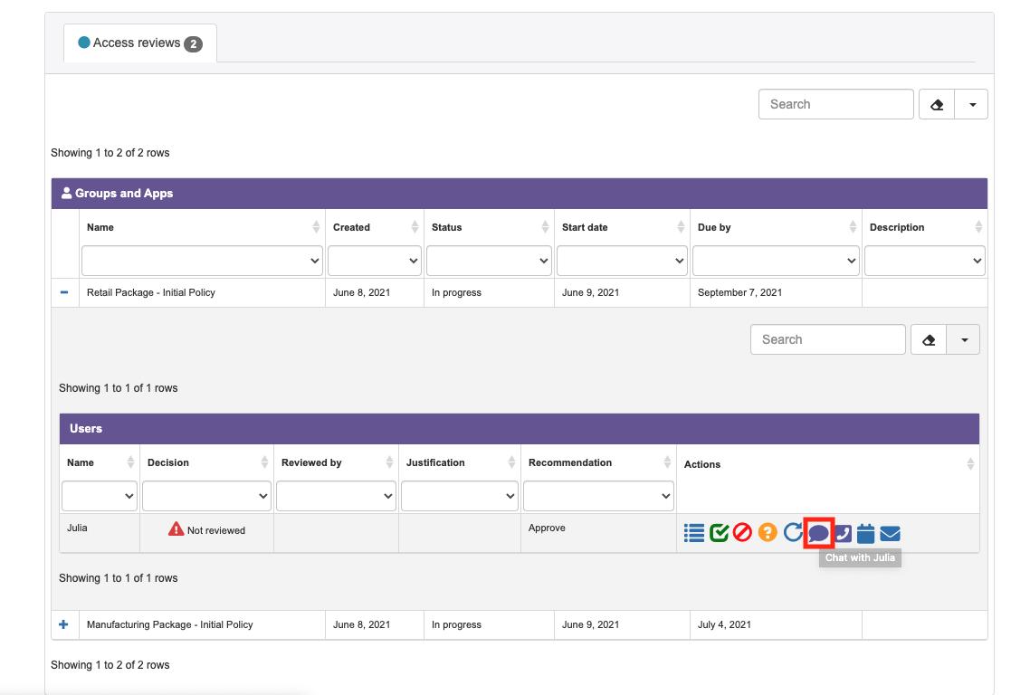 Teams Chat
