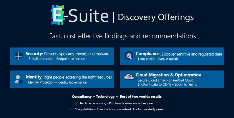 E-Suite Discovery Offerings